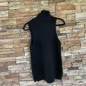 JOIE SLEEVELESS TURTLENECK